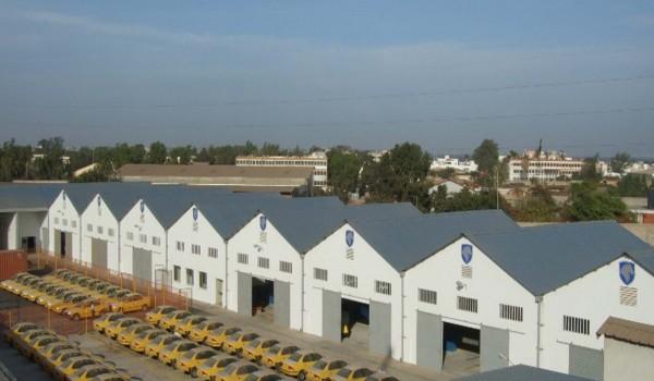کارخانه تولید سمند در سنگال